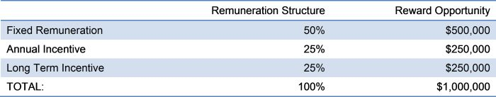 Remuneration Structure